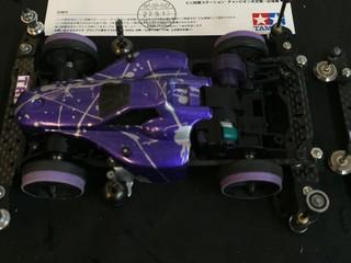 3レーン用 AR 追い紫⁉️